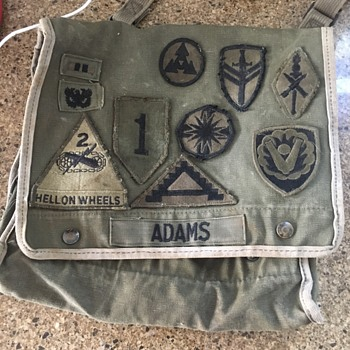 Military patches  - Military and Wartime