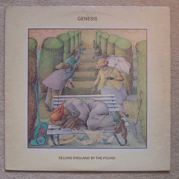 'Selling England By The Pound'...Genesis! - Records
