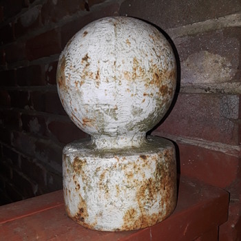 cast iron pole topper ball - Tools and Hardware