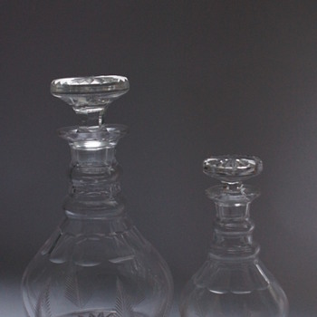 Stuart Crystal Decanters 1930s - Bottles