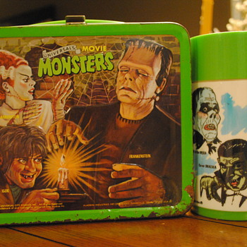 1979 Universal Monsters Lunch Box by Aladdin - Kitchen