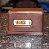 Barr Manufacturing Leather Case Cyclometer, December 17th, 1945