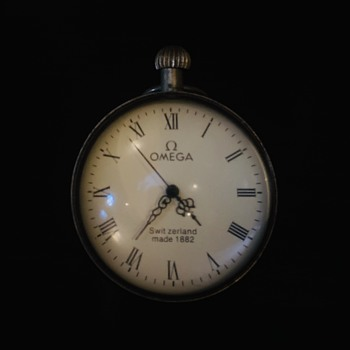 Antique Swiss Made Omega Pocket Watch Made 1882 - Pocket Watches