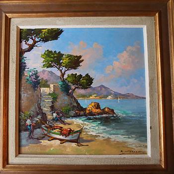 B. Franco Mediterranean Painting 196?