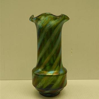 Loetz Spiral Decor + others - Art Glass