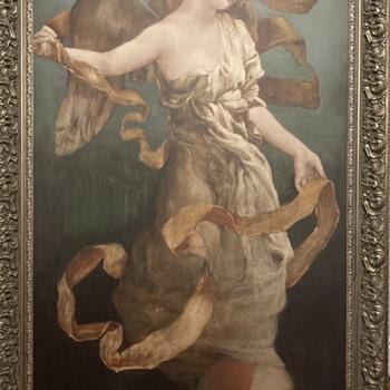 Painting by Claudette  - Fine Art