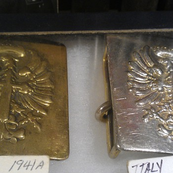 Spanish Army Belt Buckles Age?