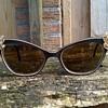Wacky Vintage Rhinestone Bakelite Sunglasses Thrift Shop Find 2 Euro ($2.14)