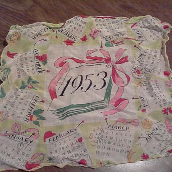 1953 Hankercheif - Accessories