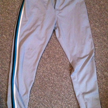 Florida Marlins Game used pants .. #51