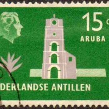 "Netherland Antilles - ""Island Series"" Postage Stamps - Stamps"