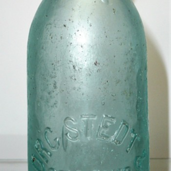 Herman Borgstedt, St. Louis Soda - Bottles