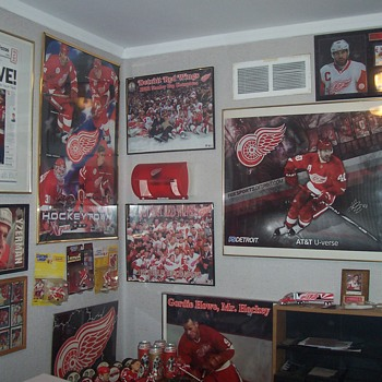Wall of...Shame? Detroit Red Wings - Hockey