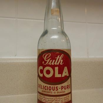 Guth Cola Bottle  - Bottles