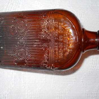 Brown Gated Bottle - Bottles