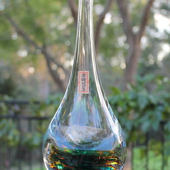 Decanter by Tsugaru Vidro - Art Glass
