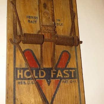 one more old rat trap - Tools and Hardware