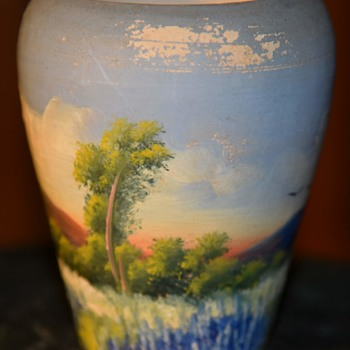 Small Painted Vase - 1939 - Pottery