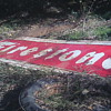 1957 Two piece Firestone sign