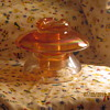 Most interesting insulator by Corning Pyrex marigold depression glass very large