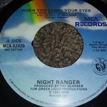Night Ranger...On 45 RPM Vinyl - Records