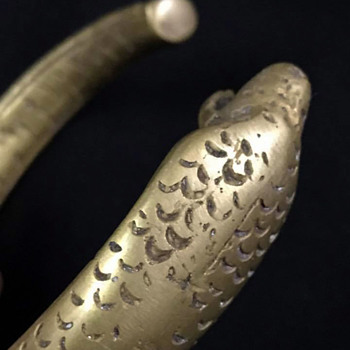 Snake Bracelet - Brass ? - Fine Jewelry