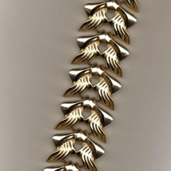 "Chunk Bracelet ""Wings"" - Costume Jewelry"