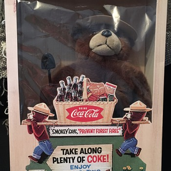 1997 Coca-Cola Smokey The Bear - Coca-Cola