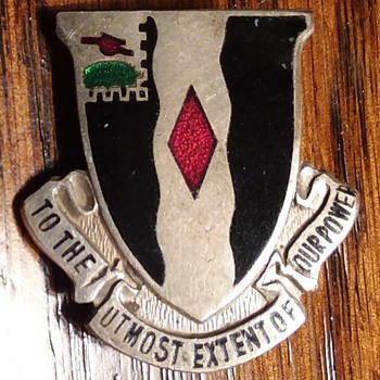 60th Infantry Regiment WW2 DUI - Military and Wartime