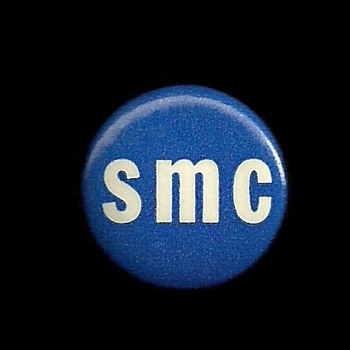 SMC = Student Mobilization Committee Vietnam Pinback Button