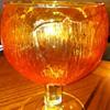 Beautiful Orange/Tangerine Goblets