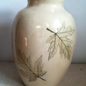 Nemadji Pottery Vase - Pottery
