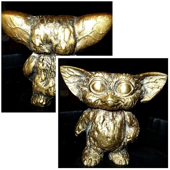 solid brass gizmo the gremlin - Movies