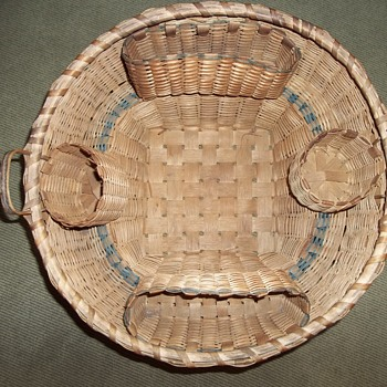 Native American Sewing Basket, 1910 - 1920 - Native American