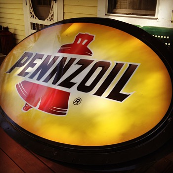 Pennzoil Sign - Petroliana
