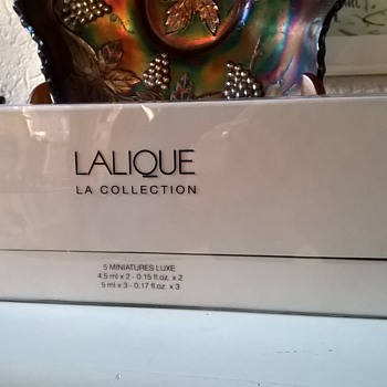 Lalique Paris La Collection Thrift Shop Find 10 Euro ($10.67) - Bottles