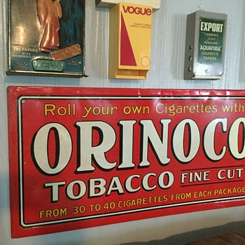 Orinoco Tobacco - Signs