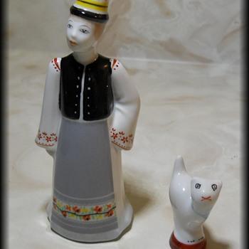 Vintage HOLLOHAZA Ceramic Set ( Made in HUNGARY ) - Pottery