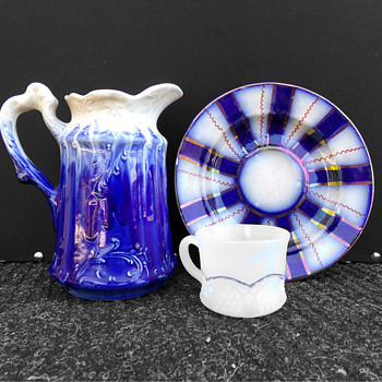 Truly Flowing Blue Pitcher ID??????? - China and Dinnerware