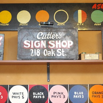 Sign Painter's Kit Boxes - Signs
