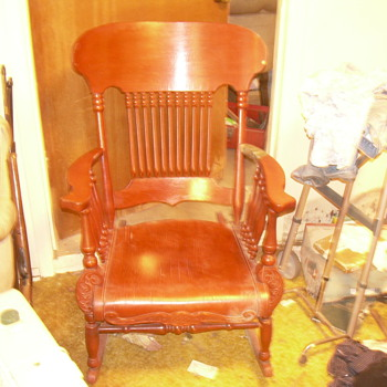 old rocking chair  - Furniture