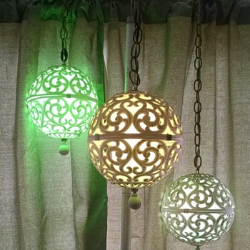 "Vintage Filigree style tension lamp...Italy made.""  - Lamps"