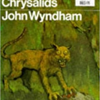 JOHN WYNDHAM THE CHRYSALIDS FRONT COVER NOVEL - Books