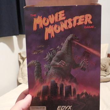 Godzilla, The Movie Monster Game Apple II