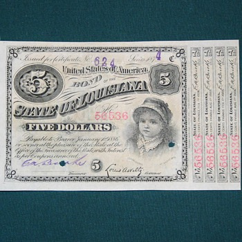Very interesting bond! - US Paper Money