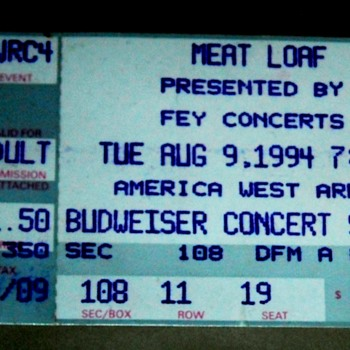 More Concert Stubs from the Daze - Paper