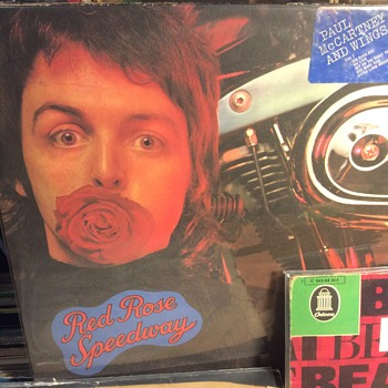 Red Rose Speedway 1973 and Ram  - Records