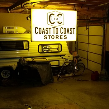 Coast to Coast double lighted - Signs