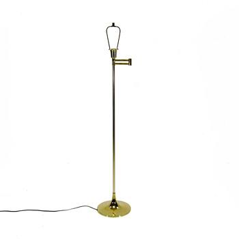 VTG Laurel Lamp Company Articulating Brass Floor Lamp  - Lamps