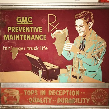 GMC Truck Advertising Posters - Signs